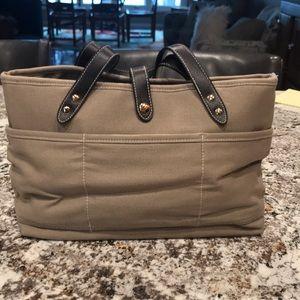 Handbags - Crabtree & Evelyn Canvas purse NWT